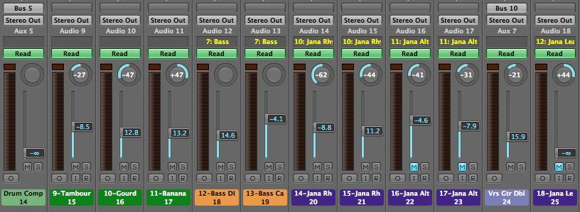David A. Lopez - Logic Mixer Window