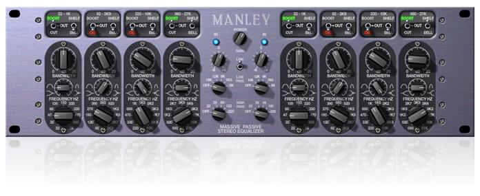 UA Manley Massive Passive plugin
