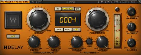 Creating Dub style effects using Waves H-Delay