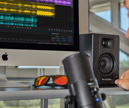 M-Audio introduces compact BX-series monitors